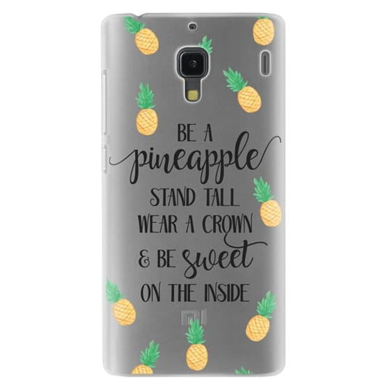 Redmi 1s Cases - Be a Pineapple - Watercolor Pineapples