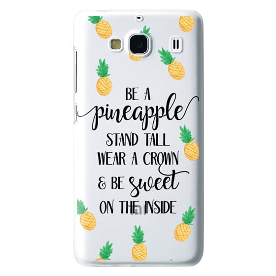 Redmi 2 Cases - Be a Pineapple - Watercolor Pineapples