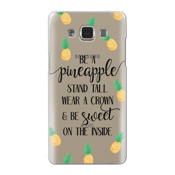 Samsung Galaxy A5 Cases - Be a Pineapple - Watercolor Pineapples