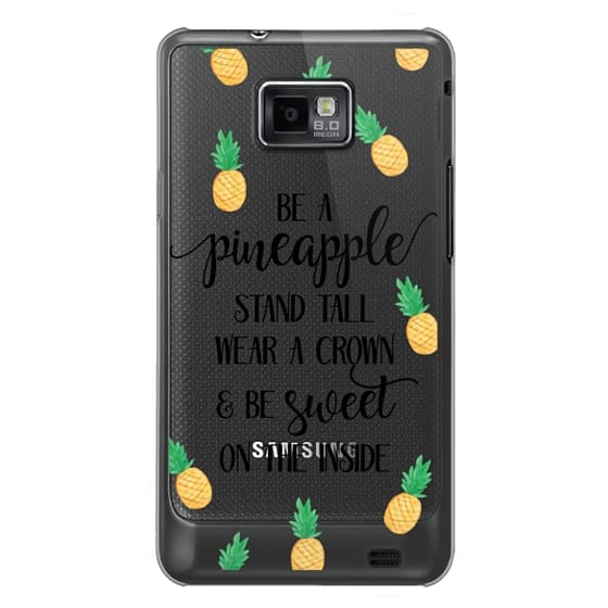Samsung Galaxy S2 Cases - Be a Pineapple - Watercolor Pineapples