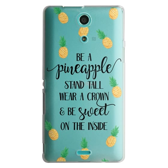 Sony Zr Cases - Be a Pineapple - Watercolor Pineapples