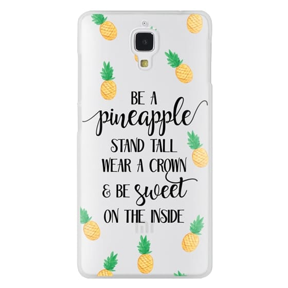 Xiaomi 4 Cases - Be a Pineapple - Watercolor Pineapples