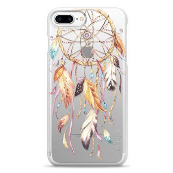 Snap iPhone 7 Plus Case - Watercolor Dreamcatcher Feather Dream Catcher