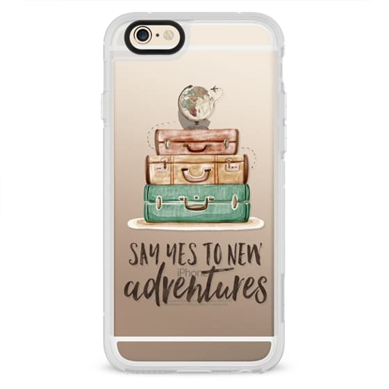 iPhone 4 Cases - Watercolour Travel World Globe - Say Yes to New Adventures