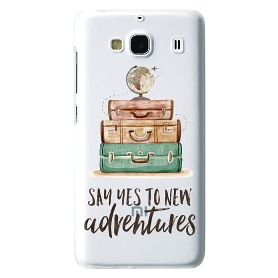 Redmi 2 Cases - Watercolour Travel World Globe - Say Yes to New Adventures