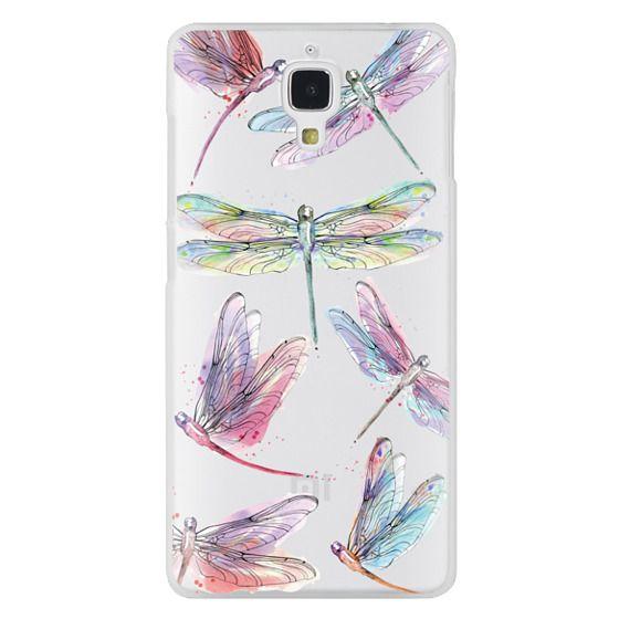 Xiaomi 4 Cases - Watercolor Dragonflies