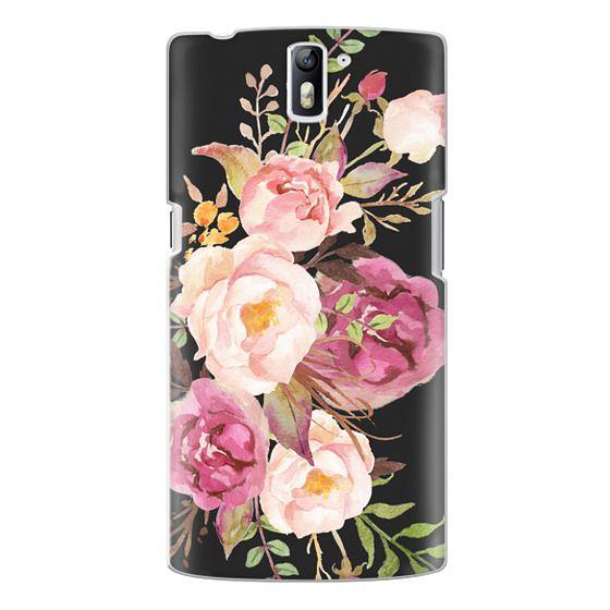 One Plus One Cases - Watercolour Floral Bouquet