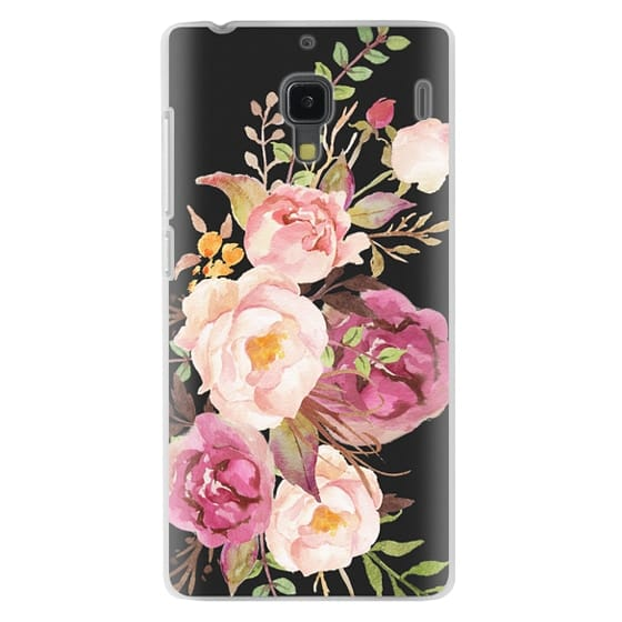 Redmi 1s Cases - Watercolour Floral Bouquet