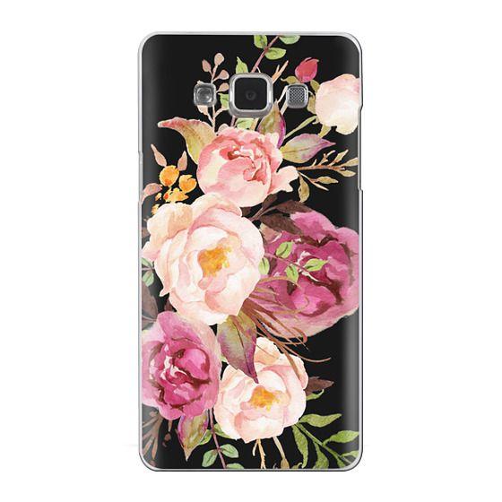 Samsung Galaxy A5 Cases - Watercolour Floral Bouquet