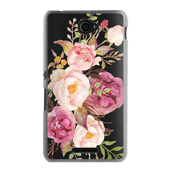 Sony E4 Cases - Watercolour Floral Bouquet