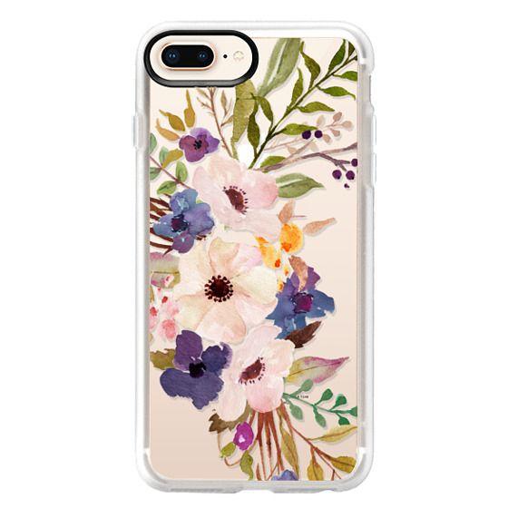 Watercolour Floral Bouquet 2 - Transparent