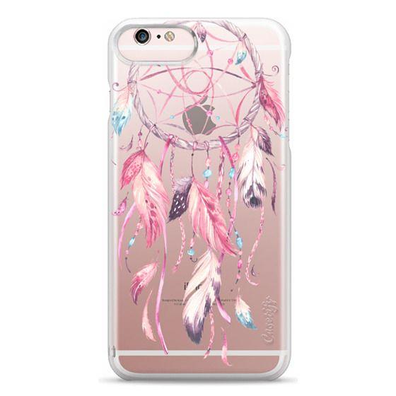 iPhone 6s Plus Cases - Watercolor Pink Dreamcatcher Feather Dream Catcher