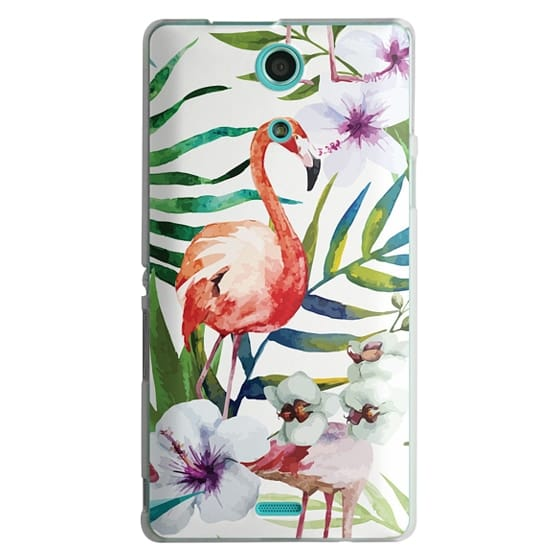 Sony Zr Cases - Tropical Flamingo