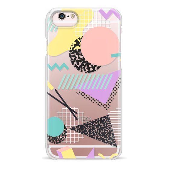 iPhone 6s Cases - Pastel Geometric Memphis Pattern