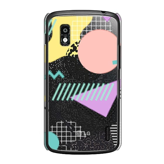 Nexus 4 Cases - Pastel Geometric Memphis Pattern