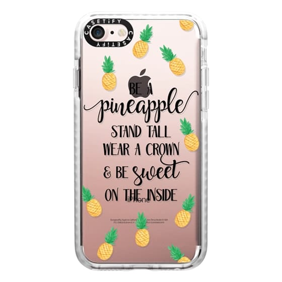iPhone 7 Cases - Be a Pineapple - Watercolor Pineapples