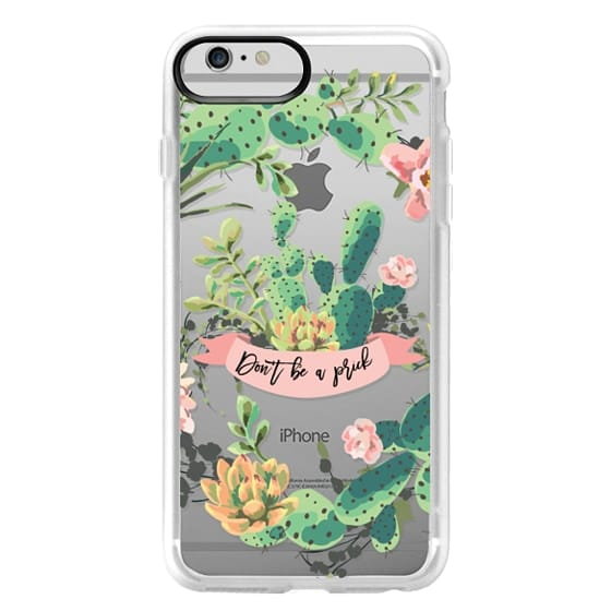 iPhone 6 Plus Cases - Cactus Garden - Don't Be A Prick