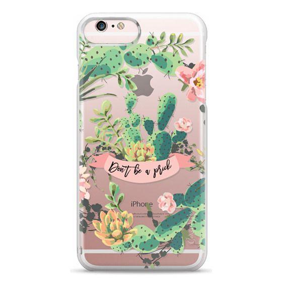iPhone 6s Plus Cases - Cactus Garden - Don't Be A Prick