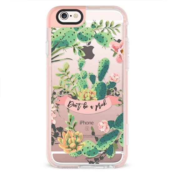 iPhone 4 Cases - Cactus Garden - Don't Be A Prick