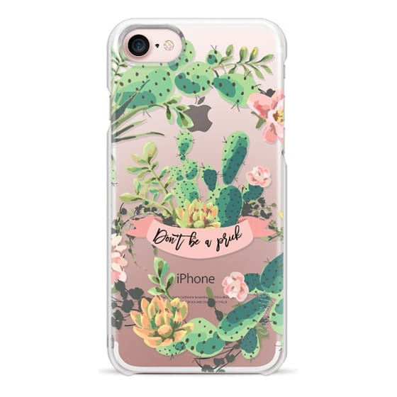 iPhone 7 Cases - Cactus Garden - Don't Be A Prick