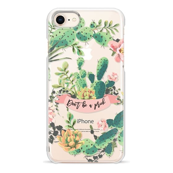 iPhone 8 Cases - Cactus Garden - Don't Be A Prick