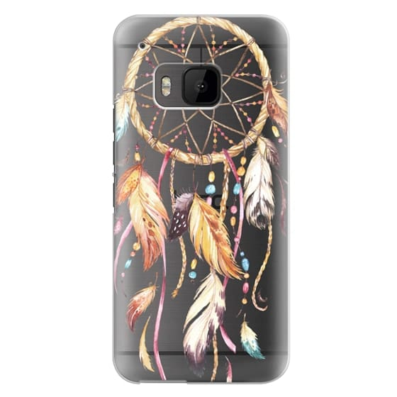 Htc One M9 Cases - Watercolor Dreamcatcher Feather Dream Catcher