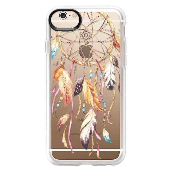 iPhone 6 Cases - Watercolor Dreamcatcher Feather Dream Catcher