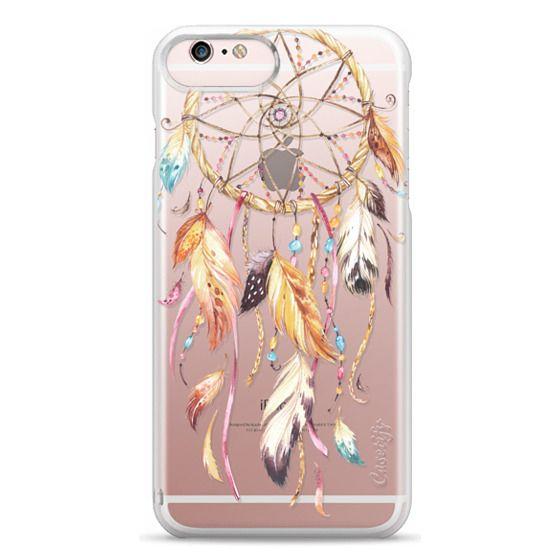 iPhone 6s Plus Cases - Watercolor Dreamcatcher Feather Dream Catcher