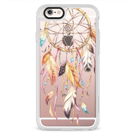 iPhone 4 Cases - Watercolor Dreamcatcher Feather Dream Catcher