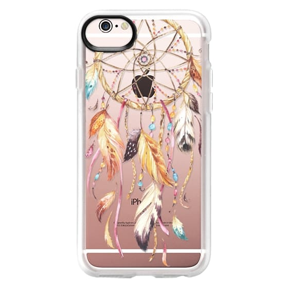 iPhone 6s Cases - Watercolor Dreamcatcher Feather Dream Catcher