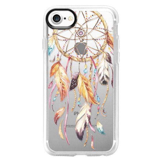 iPhone 7 Cases - Watercolor Dreamcatcher Feather Dream Catcher