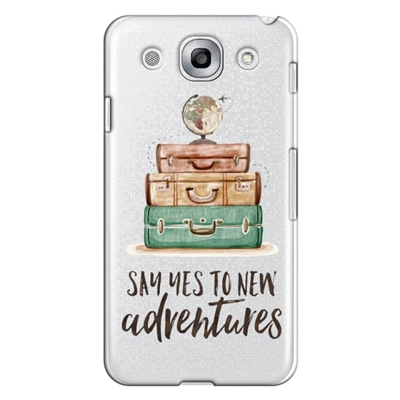 Optimus G Pro Cases - Watercolour Travel World Globe - Say Yes to New Adventures