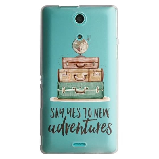 Sony Zr Cases - Watercolour Travel World Globe - Say Yes to New Adventures