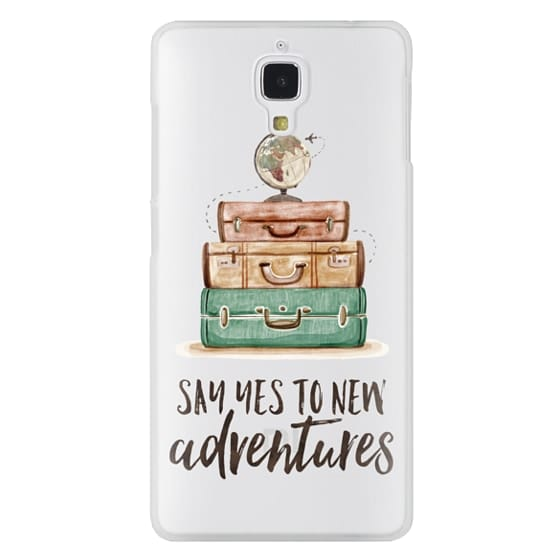 Xiaomi 4 Cases - Watercolour Travel World Globe - Say Yes to New Adventures