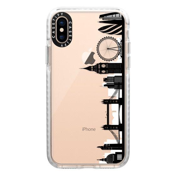 iPhone XS Cases - London Skyline