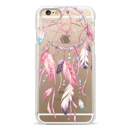 iPhone 6 Cases - Watercolor Pink Dreamcatcher Feather Dream Catcher