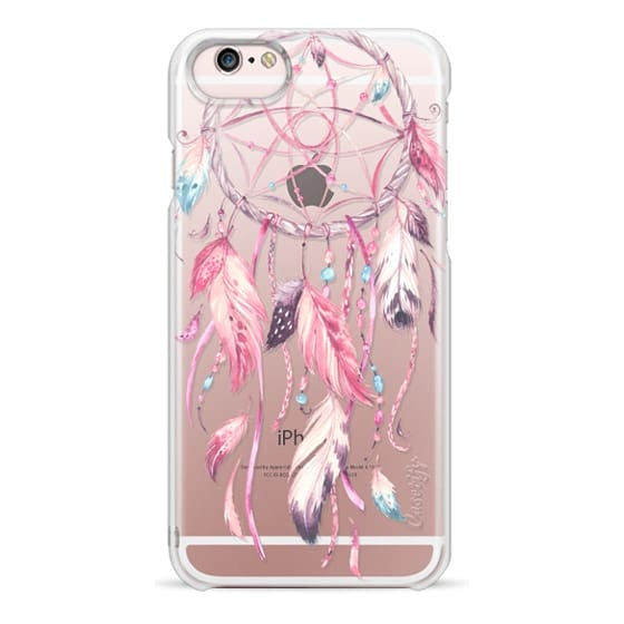 iPhone 6s Cases - Watercolor Pink Dreamcatcher Feather Dream Catcher