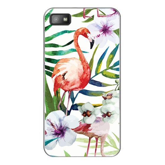 Blackberry Z10 Cases - Tropical Flamingo