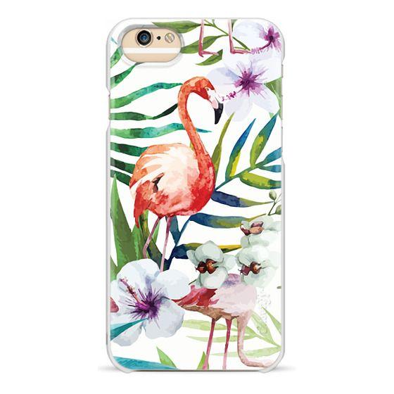 iPhone 6 Cases - Tropical Flamingo