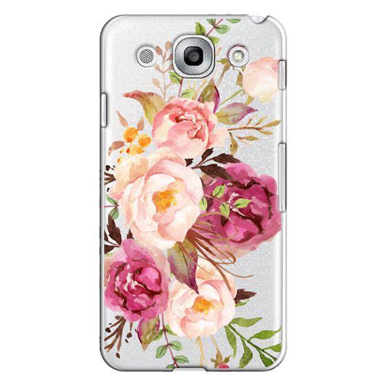 Optimus G Pro Cases - Watercolour Floral Bouquet - Transparent