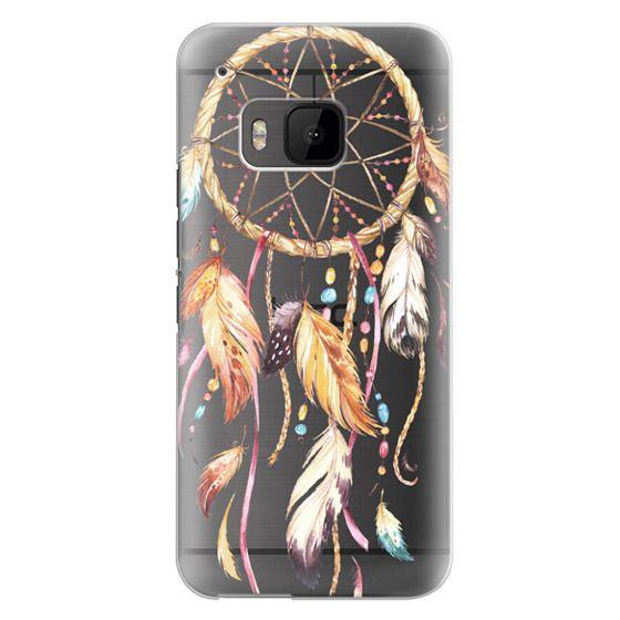Htc One M9 Cases - Watercolor Dreamcatcher Feather Dream Catcher