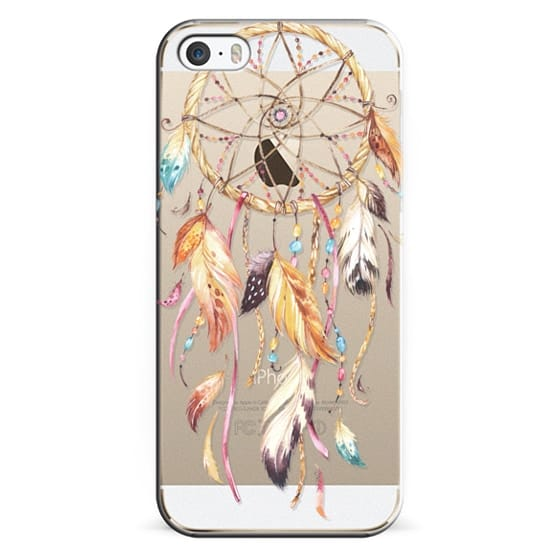 iPhone 5s Cases - Watercolor Dreamcatcher Feather Dream Catcher