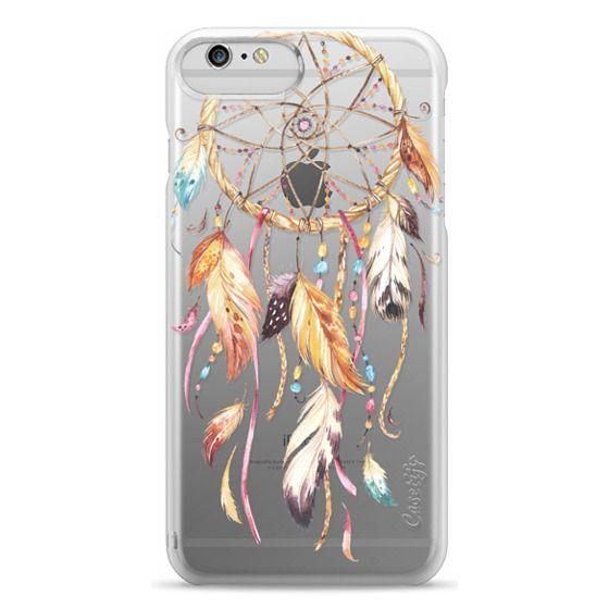iPhone 6 Plus Cases - Watercolor Dreamcatcher Feather Dream Catcher