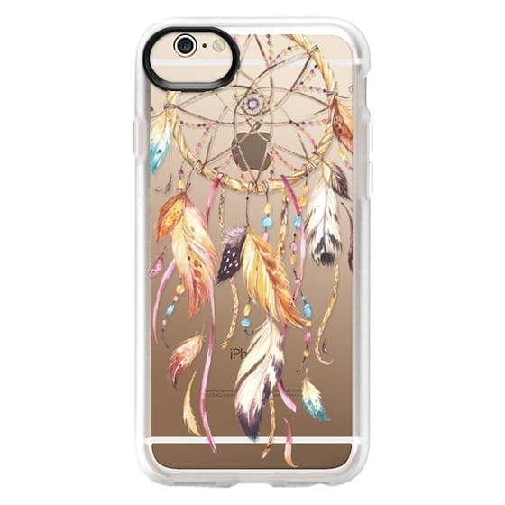iPhone 6 Cases - Watercolor Dreamcatcher Feather Dream Catcher