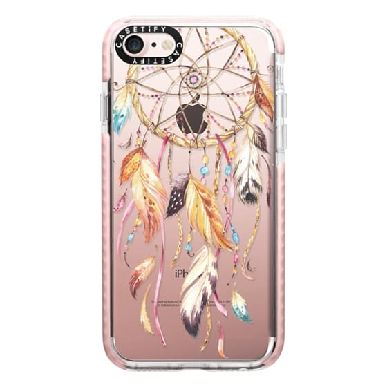 iPhone 7 Cases - Watercolor Dreamcatcher Feather Dream Catcher