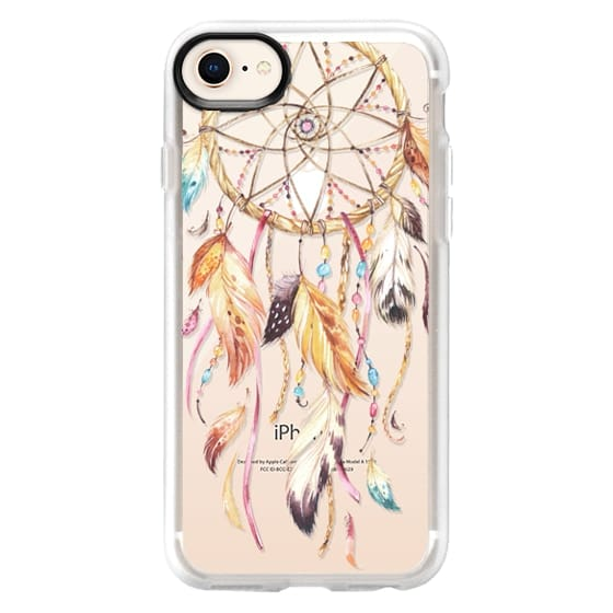 iPhone 8 Cases - Watercolor Dreamcatcher Feather Dream Catcher