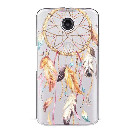 Nexus 6 Cases - Watercolor Dreamcatcher Feather Dream Catcher