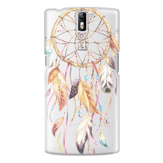 One Plus One Cases - Watercolor Dreamcatcher Feather Dream Catcher