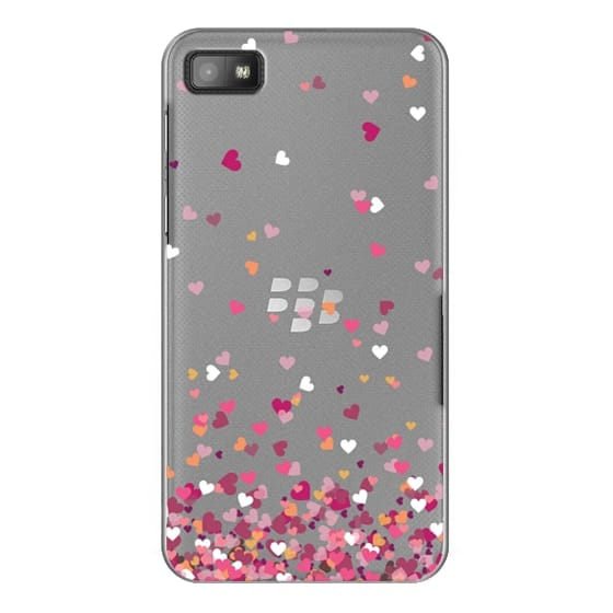 Blackberry Z10 Cases - Confetti Hearts