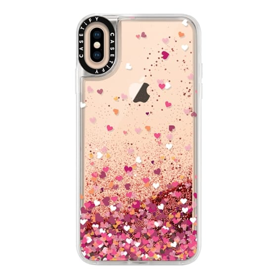 iPhone XS Max Cases - Confetti Hearts